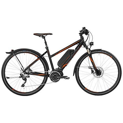 Bergamont E-Helix 7.0 Damen Pedelec Elektro Trekking Fahrrad schwarz/orange 2017
