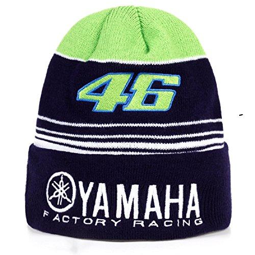 Valentino Rossi VR46 Moto GP Yamaha Factory Racing Team Beanie Offiziell 2017