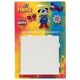 Hama - 4553 - Loisirs Créatifs - Blister 4 Plaques pour Perles à Repasser Midi