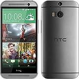 Funda de silicona para HTC One M8 - Slimcase transparente - Cover PhoneNatic Cubierta + protector de pantalla