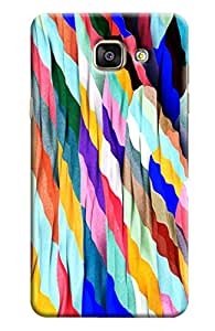 Blue Throat Flag Colored Pattern Printed Designer Back Cover/ Case For Samsung Galaxy A5 2016