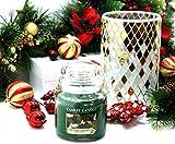 1x ufficiale Yankee Candle Celebrate ceramica mosaico natalizio, portabicchiere decorazione ornamento manica di + Medium Christmas Garland