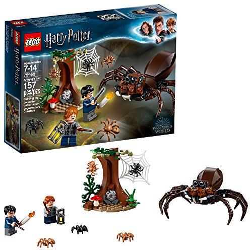 Lego Harry Potter And The Chamber of Secrets 75950 Aragog's Lair Building Kit