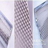 lsaiyy Carta da Parati autoadesiva ad Alta Temperatura autoadesiva Impermeabile della Parete del Foglio di Alluminio della Carta stagnola della Cucina di Alluminio Impermeabile 40CMX5M