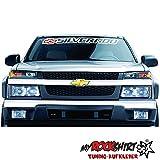 Silverado Chevrolet + Blendtreifen 130 cm Keil MRS.219 Aufkleber Tuning Auto Autoaufkleber freigestellt `+ Bonus Testaufkleber