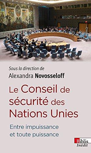 Le Conseil de sécurité des Nations Uni...