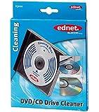 Ednet Reinigungs CD mit speziellen Bürsten zur schonenden Reinigung der Linse im CD-Laufwerk