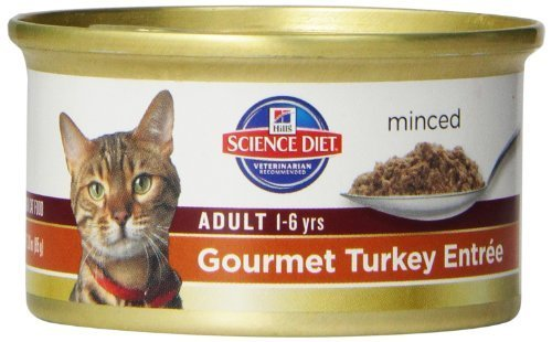 hills-science-diet-adult-optimal-care-gourmet-turkey-entree-minced-cat-food-3-ounce-can-24-pack-by-h