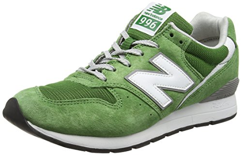 New Balance Mrl996v2, Baskets Basses Homme Vert (Green/White)