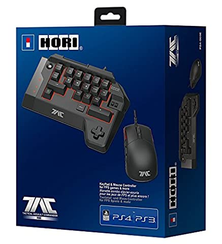 HORI Tactical Assault Commander (TAC:Four) KeyPad and Mouse Controller (PS4/PS3/PC)