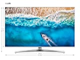Hisense H55U7BE - Smart TV ULED 55' 4K Ultra HD, Bluetooth, Dolby Vision HDR, HDR 10+, Audio Dolby Atmos, Ultra Dimming, Smart TV VIDAA U 3.0 IA, Compatible con Dispositivos Echo, Mando con micrófono