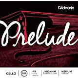 D'Addario Bowed Jeu de cordes pour violoncelle D'Addario Prelude, manche 4/4, tension Medium