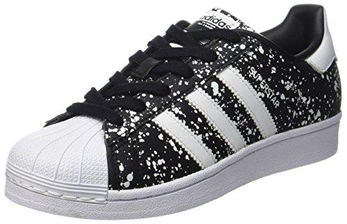 Adidas Damen Superstar Laufschuhe, Mehrfarbig (Core Black/Ftwr White/Core Black), 38 EU