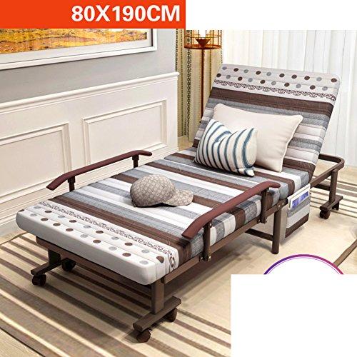 JKAPWQOILUXHWTX Klappbett/doppelbett/büro Mittagessen/einfaches Bett/Escort Bett/stylish Single-nap-Bett-F