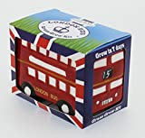 Mini Red London Bus - Grow Your Own Flower Pot