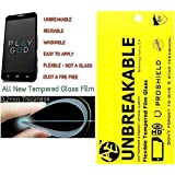 AE (TM) LG G2 Tempered Flim Flexiable Glass 0.2mm Unbreakable Reusable Screen Protector Film Guard ,Shatterproof, Anti-Scratch Bubble-free, Oleophobic Coating, Safety Packing And Easy To Install In Your Phone.