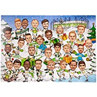 Borussia Mönchengladbach Comic Adventskalender 2018