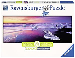 Ravensburger - Puzzle, Panorama Lago Jökulsárlón, Islanda, 1000 Piezas (15075)