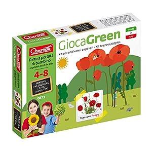 Quercetti 0673-Juegos Green Amapola Rojo