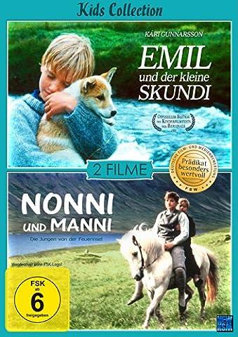 Emil und der Skundi & Nonni und Manni (Kids Collection) (Prädikat: Besonders Wertvoll) [2 Disc (Collection 4 Dvd-set)