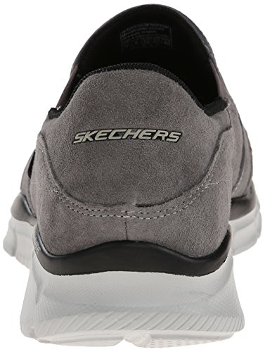 Skechers EqualizerMind Game, Sneakers basses homme gris (CHAR)