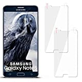 moex 2X Samsung Galaxy Note 5 | Schutzfolie Klar Display Schutz [Crystal-Clear] Screen Protector Bildschirm Handy-Folie Dünn Displayschutz-Folie für Samsung Galaxy Note 5 Displayfolie