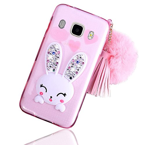 sunroyal-lovely-ultra-thin-faltbare-cartoon-funny-smile-bunny-glitzer-bling-diamant-rabbit-ear-schut