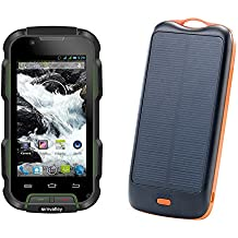Al aire libre-smartphone Simvalley Mobile SPT-900 V2 + solar-externa