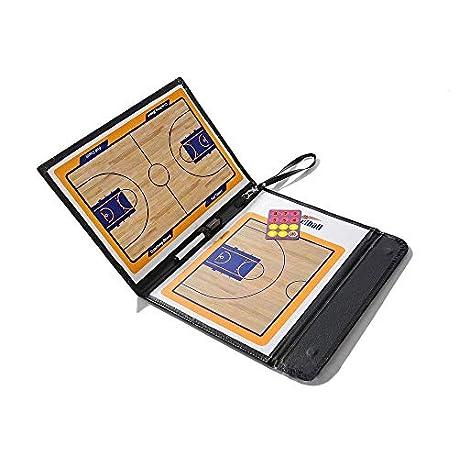 Firelong Basketball Coach Portapapeles magn tico Plegable con un pa o de Escritura 2 en 1