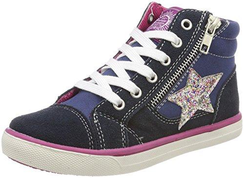 Indigo Mädchen 451 051 Hohe Sneaker, Blau (Navy 833), 32 EU