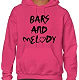 BARS AND MELODY ~ BRITAINS GOT TALENT ~ PINK ADULT HOODIE S-XXL