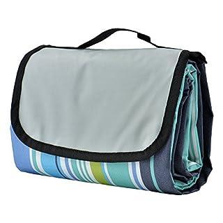 Picknickdecken, TechSmile Wasserdichte Tragbare und Faltbare Stranddecke, Ideal für Strand, Wildnis, Wiese, usw(150 x 200 cm)