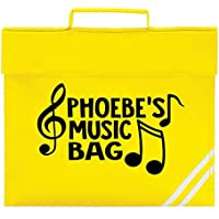 Personalised Name Music Bag Book Bag School bags Boys Personalised Bags Girls Bags Piano Back to School