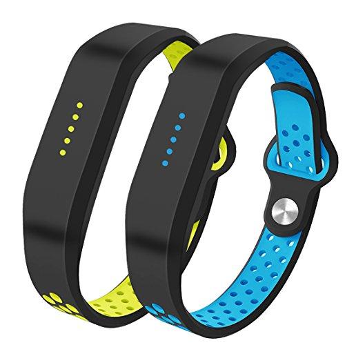 Für Fitbit Flex 2 Zubehör Ersatz Armband-Bepack Classic weiche Silikon Armband mit Loch Design für 2016 Fitbit Flex 2 Fitness Activity Tracker