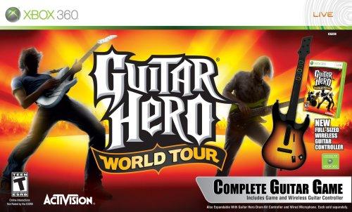 Guitar Hero World Tour Guitar Bundle