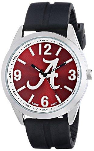 game-time-hommes-de-col-var-ala2varsity-montre-alabama-logo-un