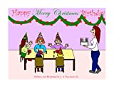 Being born on Christmas Day, Amy feels like the luckiest girl in the whole world.  She gets to open Christmas presents in the morning with her parents then she gets to open more presents in the afternoon at her birthday party.  But this year, she lea...