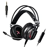 Xiberia V10 Headphones with Mic for PC, PS4, Xbox One, Laptop, PC, iPhone