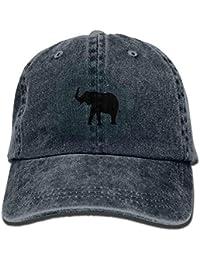 Calcomanía del corazón Unisex Lavado Sarga algodón Gorra de béisbol de la Vendimia Sombrero Ajustable…