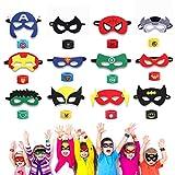 Superhelden Masken, Superhelden Armbänder & Super Masken für Kinder Superhero Masken mit...
