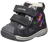 Geox Baby Mädchen B Toledo Girl C Sneaker, Grau (Dk Grey C9002), 25 EU