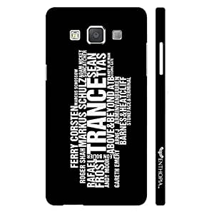 Samsung Galaxy A3 TRANCE ARSTISTS designer mobile hard shell case by Enthopia