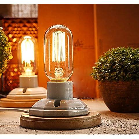 fsliving 6-pack 40W Edison lampadina t45Lampadina a incandescenza & # xFF08; dritto tungsteno & #
