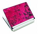 Luxburg® Design Aufkleber Schutzfolie Skin Sticker für Notebook Laptop 10 / 12 / 13 / 14 / 15 Zoll, Motiv: Sakura Pink