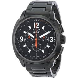 ESQ 7301418 47mm Black Steel Bracelet & Case Mineral Men's Watch