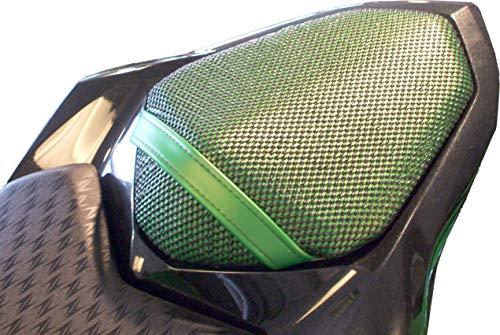 Triboseat Coprisella Passeggero Antiscivolo Nero Compatibile Con Kawasaki Z800 (2013-2018)