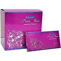 Satya Purple Jewel Premium Dhoop Sticks Box (10Sticks x 12Packungen) preisvergleich bei billige-tabletten.eu