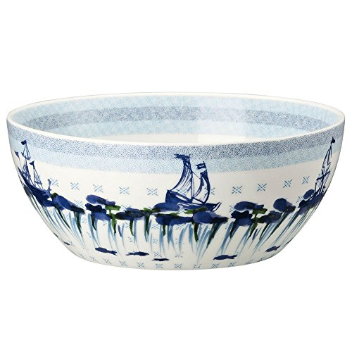Hutschenreuther 02471-725718-15455 Lots of Dots Sea Müslischale 15 cm, Blau