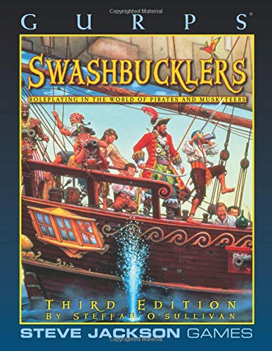 GURPS Swashbucklers por Steffan O'Sullivan