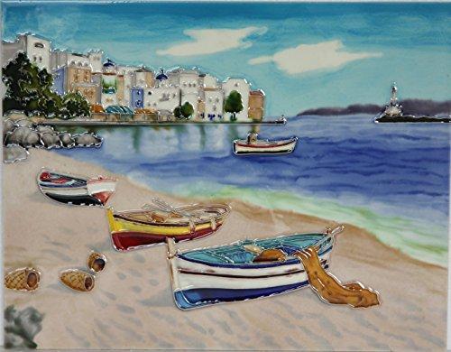 yh-arts-sea-shore-ceramic-tiles-multi-colour-11-x-14-inch